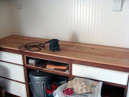 Quarter Round Kitchen Cabinets Make Your Own Wood Countertops The Happy Housewife Home