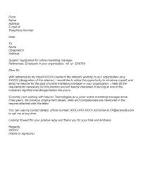 written cover letter application cover letters