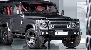 kahn land rover defender kahn design selling virtually new six wheeled defender for almost