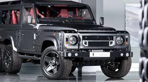 kahn land rover defender kahn design selling virtually new six wheeled defender for almost