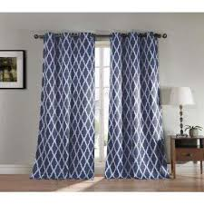Blackout Curtain Panels With Grommets Blackout Curtains U0026 Drapes Window Treatments The Home Depot