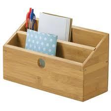 Desk Letter Organizer Bamboo Desktop Bill And Mail Organizer In Mail Organizers