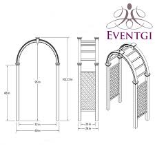 chuppah dimensions wedding arch rentals miami broward palm fl