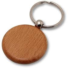 wooden key chain wholesale lot of 50 blank wooden key chain tags circle diy