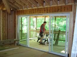 How To Install A Sliding Patio Door Install Patio Door Design Observatoriosancalixto Best Of