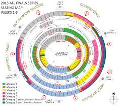 Anz Stadium Floor Plan Finals Ticketing Information Power Bigfooty Afl Forum