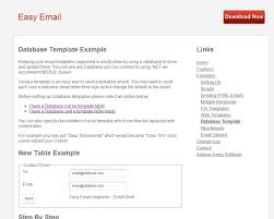 Email Content For Sending Resume Examples by Easy Email By Codethenasoftware Codecanyon