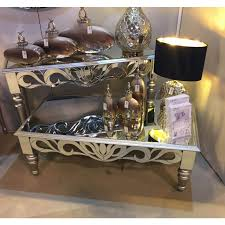 wood and mirrored console table greek style mirrored console table silver wood trim zurleys