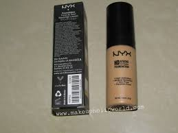 nyx hd studio photogenic foundation makeupholic world