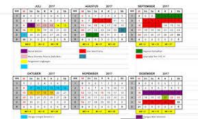 Kalender 2018 Hari Libur Indonesia Pendidikan Tahun 2017 2018 Lengkap Dengan Hari Libur