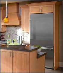 Built In Refrigerator Cabinets The Top 5 Regular Counter Cabinet Depth Refrigerator To See Home