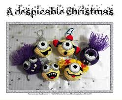 ravelry a despicable minion inspired pattern by