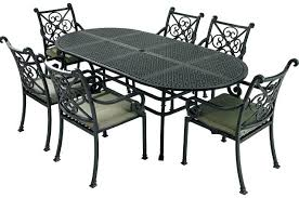 Iron Outdoor Patio Furniture Metal Patio Table Metal Outdoor Patio Furniture With Brick