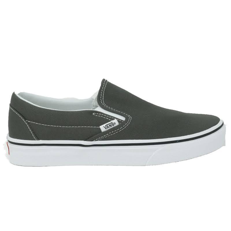 Vans Classic Slip-On (Charcoal) Skate Shoes-12