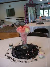 best sock hop s centerpiece images on pinterest  with th anniversary decorations  th anniversary sock hop centerpieces   decorating ideas for cakes  from pinterestcom