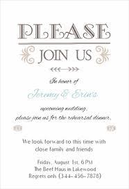 Rehearsal Dinner Invitations Wording Free Printable Wedding Rehearsal Dinner Invitations Dhavalthakur Com