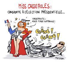 dessin casserole cuisine miss casseroles candidate à l élection présidentielle de 2017