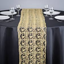 Beaded Table Linens - pretty lace table runners kitchen white table runner floral table