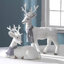 white deer decoration best gifts and decorations