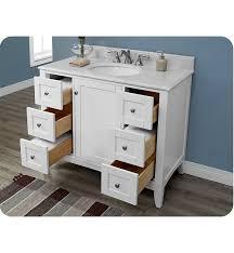 Fairmont Bathroom Vanities Discount by Fairmont Designs 1512 V42 Shaker Americana 42 Inch Vanity In Polar