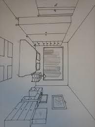 dessin chambre dessin d une chambre en perspective à référence sur la décoration de