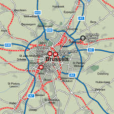 map brussels brussels rail maps and stations from european rail guide