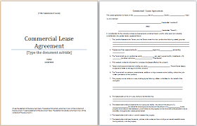 lease contract contents best resumes curiculum vitae and cover