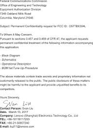 tbx304l portable tablet computer cover letter fcc confidentiality