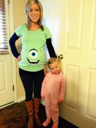 Monsters Inc Costumes Monsters Inc Costumes Pregnant Google Search Halloween Pinterest