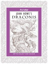 middle earth news u2013 color your own dragon with john howe u0027s u0027draconis u0027