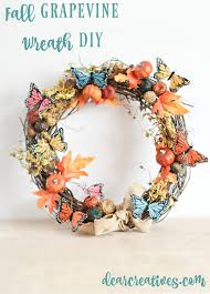 Decorate Christmas Grapevine Wreaths by How To Decorate A Nature Inspired Grapevine Wreath For Fall In An Hour