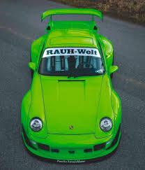 rauh welt porsche green porsche 911 993 club drive
