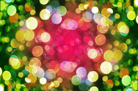 christmas background from the nice color xmas lights stock photo