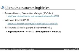 service bureau distance alphorm com formation rds windows server 2008 r2 guide du consulta