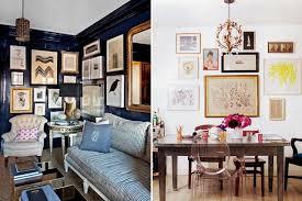 new interior design trend gallery walls