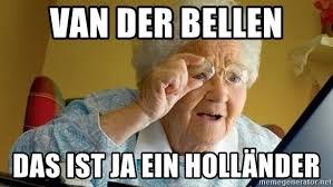 Meme Grandmother - van der bellen das ist ja ein holl繖nder grandmother senta aqui