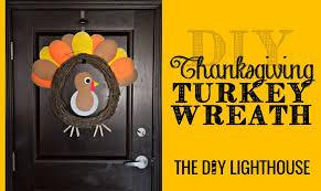 diy thanksgiving turkey wreath the diy lighthouse