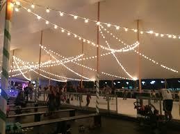 ice skating in a tropical climate at ward winter village in