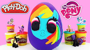 Mlp Blind Bag Huge My Little Pony Play Doh Surprise Egg Filled With Mlp U2026 Flickr
