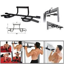 door gym exercise bar chin up pull up rod situp fitness dips