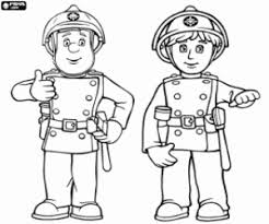 fireman sam coloring pages printable games