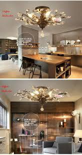 retro loft american vintage crystal chandelier lustres de cristal