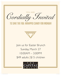 easter brunch at the capital grille shop legacy place