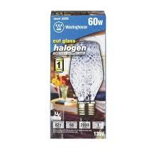 60 watt light bulb lumens westinghouse halogen light bulb 60 watts 825 lumens tubular sl19
