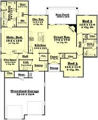 4 bedroom ranch style house plans ranch style house plan 3 beds 2 baths 2000 sq ft plan 430 73