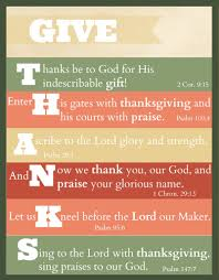 free printable give thanks thanksgiving scripture give