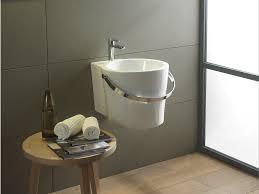 bucket washbasin for children by scarabeo ceramiche design