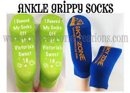 personalized socks personalized ankle grip socks bar bat mitzvah wedding sweet 16