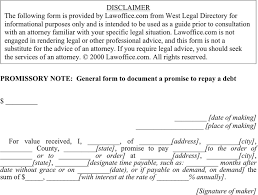 promissory note template template free download speedy template