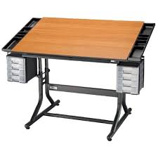 Drafting Table Storage Drafting Table With Storage Ideas